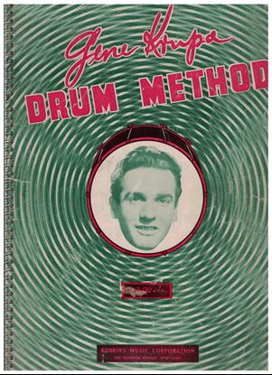 Picture of Gene Krupa Drum Method