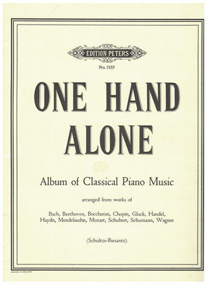 Picture of One Hand Alone, Album of Classical Piano Music