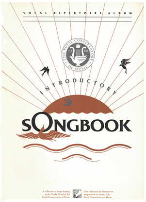 Picture of Songbook Introductory, 1990/91 Edition, Royal Conservatory of Music, University of Toronto
