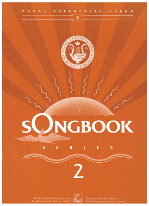 Picture of Songbook 2, 1991 Edition, Royal Conservatory of Music, University of Toronto