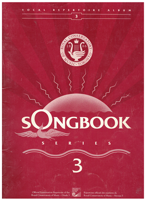 Picture of Songbook 3, 1991 Edition, Royal Conservatory of Music, University of Toronto
