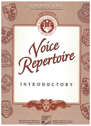 Picture of Voice Repertoire Introductory, 1998 2nd Edition, Royal Conservatory of Music, University of Toronto