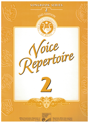 Picture of Voice Repertoire 2, 1998 2nd Edition, Royal Conservatory of Music, University of Toronto