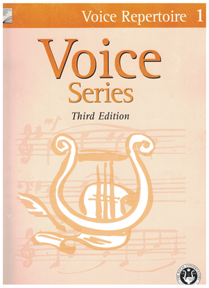 Picture of Voice Repertoire 1, 2005 3rd Edition, Royal Conservatory of Music, University of Toronto