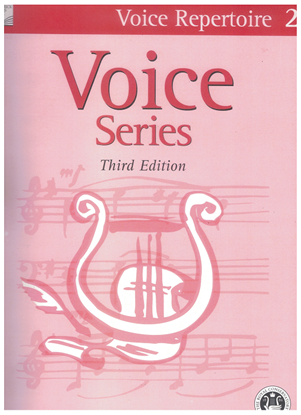 Picture of Voice Repertoire 2, 2005 3rd Edition, Royal Conservatory of Music, University of Toronto