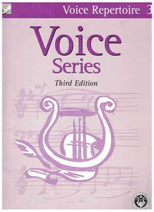 Picture of Voice Repertoire 3, 2005 3rd Edition, Royal Conservatory of Music, University of Toronto