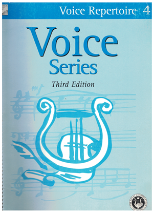Picture of Voice Repertoire 4, 2005 3rd Edition, Royal Conservatory of Music, University of Toronto