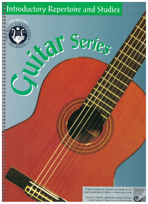 Picture of Guitar Introductory Grade Exam Book, Repertoire & Studies, 1997 2nd Edition, Royal Conservatory of Music, University of Toronto