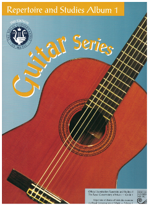 Picture of Guitar Grade 1 Exam Book, Repertoire & Studies, 1997 2nd Edition, Royal Conservatory of Music, University of Toronto