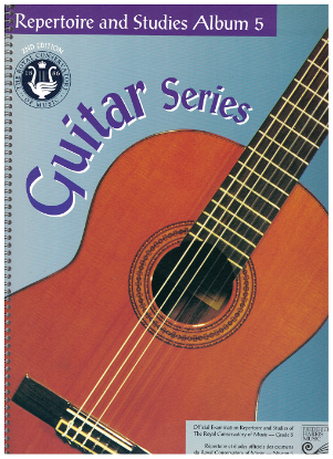 Picture of Guitar Grade 5 Exam Book, Repertoire & Studies, 1997 2nd Edition, Royal Conservatory of Music, University of Toronto
