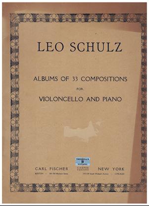 Picture of Album of 33 Compositions for Cello & Piano, ed. Leo Schulz