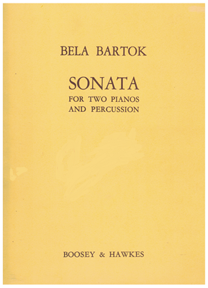 Picture of Sonata for Two Pianos and Percussion, Bela Bartok
