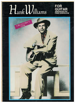 Picture of Hank Williams for Guitar, arr. Fred Sokolow, TAB songbook