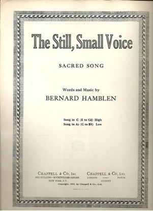 Picture of The Still Small Voice, Bernard Hamblen, high voice