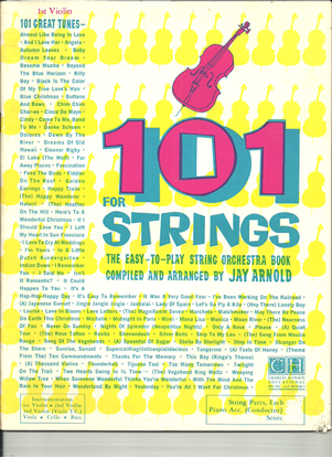 Picture of 101 for Strings, 1st violin part only, arr. Jay Arnold