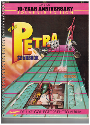 Picture of The Petra Songbook, 10 Year Anniversary Souvenir Edition