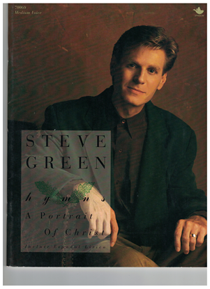 Picture of Steve Greene, A Portrait of Christ, medium voice songbook