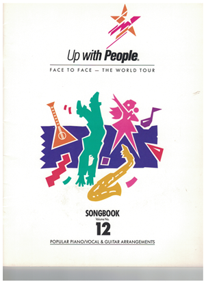 Picture of Up With People Songbook Volume 12, Face to Face - The World Tour