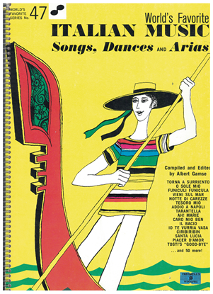 Picture of World's Favorite Series No. 47, Italian Music Songs Dances and Airs, WFS47