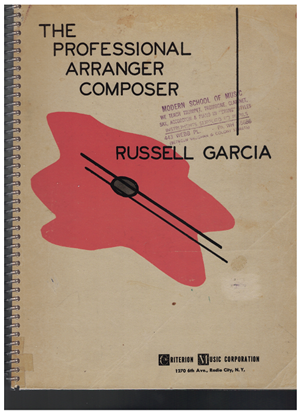 Picture of The Professional Arranger Composer, Russel Garcia