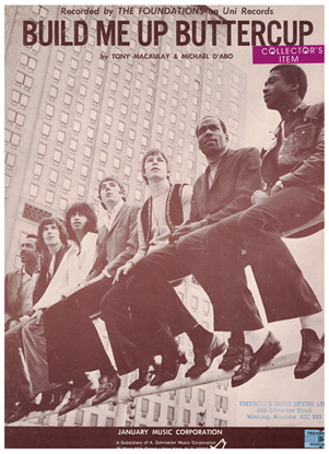 Picture of Build Me Up Buttercup, Tony MacAulay & Michael D'Abo, recorded by The Foundations