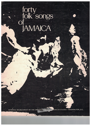 Picture of Forty Folk Songs of Jamaica, ed. Olive Lewin, songbook