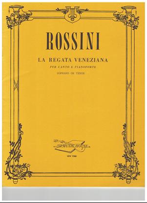Picture of La Regata Veneziana, G. Rossini, soprano/tenor