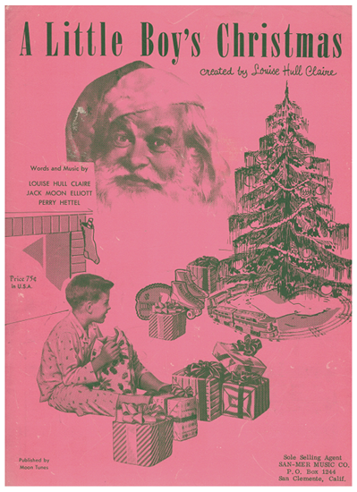 Picture of A Little Boy's Christmas, Louise Hull Claire/ Jack Moon Elliott/ Perry Hettel