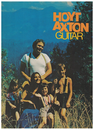 Picture of Hoyt Axton Guitar, songbook
