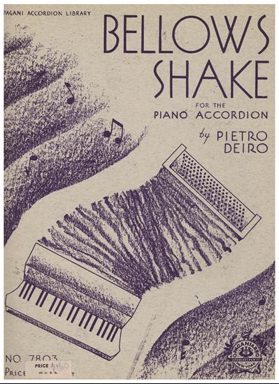 Picture of Bellows Shake for the Piano Accordion, Pietro Deiro