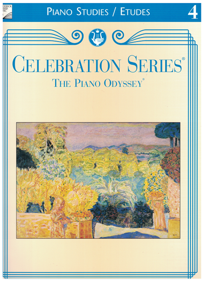 Picture of Royal Conservatory of Music, Piano Studies/Etudes Grade  4 Book, 2001 Piano Odyssey Series, University of Toronto