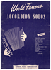 Picture of That Old Feeling, Lew Brown & Sammy Fain, arr. Pietro Deiro for accordion solo