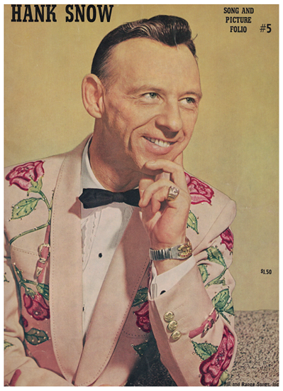 Picture of Hank Snow, Song and Picture Folio No. 5, songbook