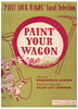 """Picture of Carino Mio, from """"Paint Your Wagon"""", Alan Jay Lerner & Frederick Lowe"""
