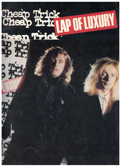 Picture of Lap of Luxury, Cheap Trick, songbook