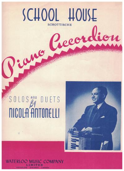 Picture of School House, Schottische, N. Antonelli, accordion solo