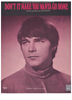 Picture of Don't It Make You Wanta Go Home, written & recorded by Joe South