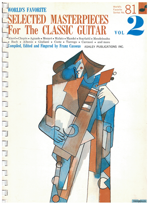 Picture of World's Favorite Series No.  81, Selected Masterpieces for the Classic Guitar Vol. 2, WFS81, ed. Frantz Casseus, songbook