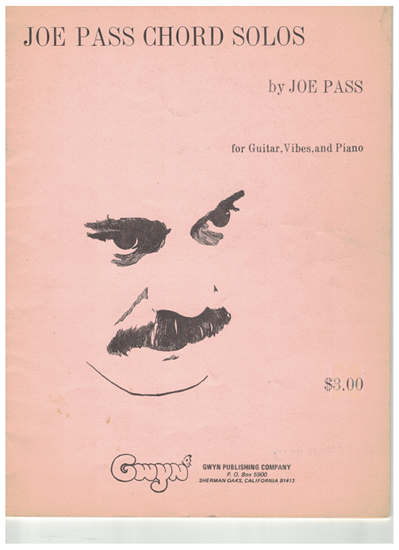 Picture of Joe Pass Chord Solos, guitar solo songbook