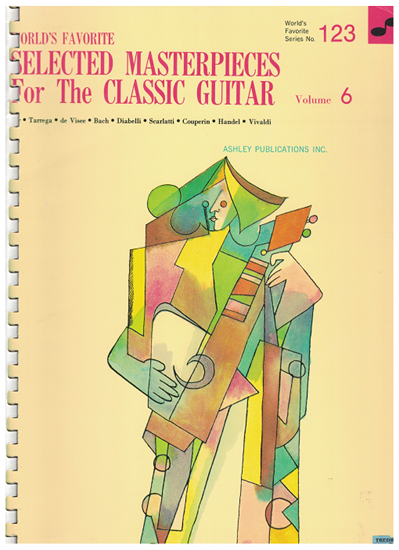 Picture of World's Favorite Series No. 123, Selected Masterpieces for the Classic Guitar Vol. 6, WFS123, ed. Frantz Casseus, songbook