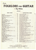 Picture of Folklore for Guitar, Hy White, songbook