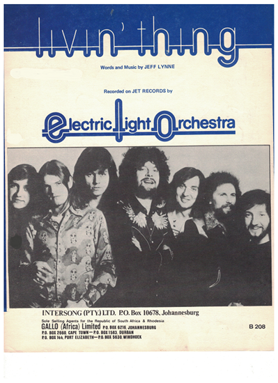Picture of Livin' Thing, Jeff Lynne, recorded by Electric Light Orchestra