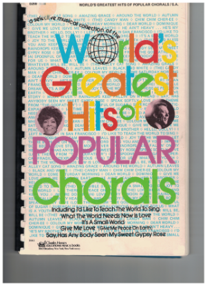 Picture of World's Greatest Hits of Popular Chorals, Two Part(Soprano/Alto) Songbook, arr. John Brimhall/ William Stickles/ Walter Ehret/ Don Muller