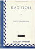 Picture of Rag Doll, Nacio Herb Brown, vocal solo sheet music
