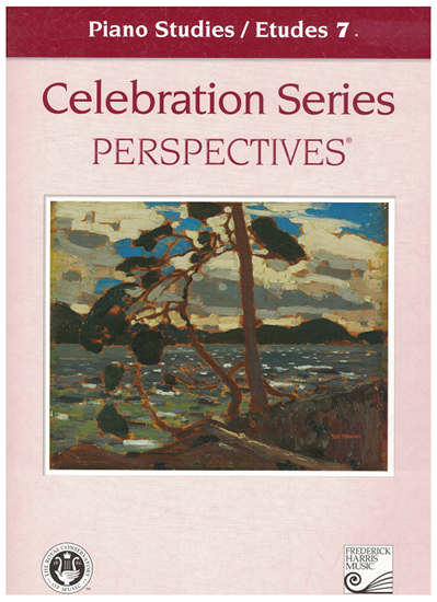 Picture of Royal Conservatory of Music, Piano Studies/Etudes Grade  7 Book, 2008 Perspectives Series, University of Toronto