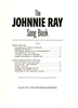 Picture of The Johnnie Ray Song Book