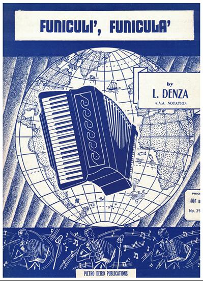 Picture of Funiculi Funicula, L. Denza, arr. Pietro Deiro for accordion solo