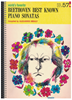 Picture of World's Favorite Series No. 57, Beethoven Best Known Piano Sonatas, WFS 57, piano solo songbook
